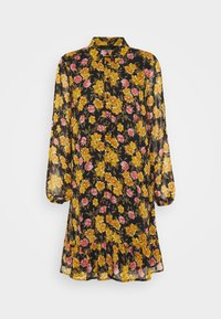 Pieces - PCTHILDE DRESS - Shirt dress - black - 4