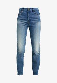 G-Star - 3301 HIGH STRAIGHT 90S - Jeans straight leg - antic indigo - 3