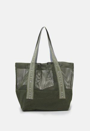 TOTE LOGO - Tote bag - khaki