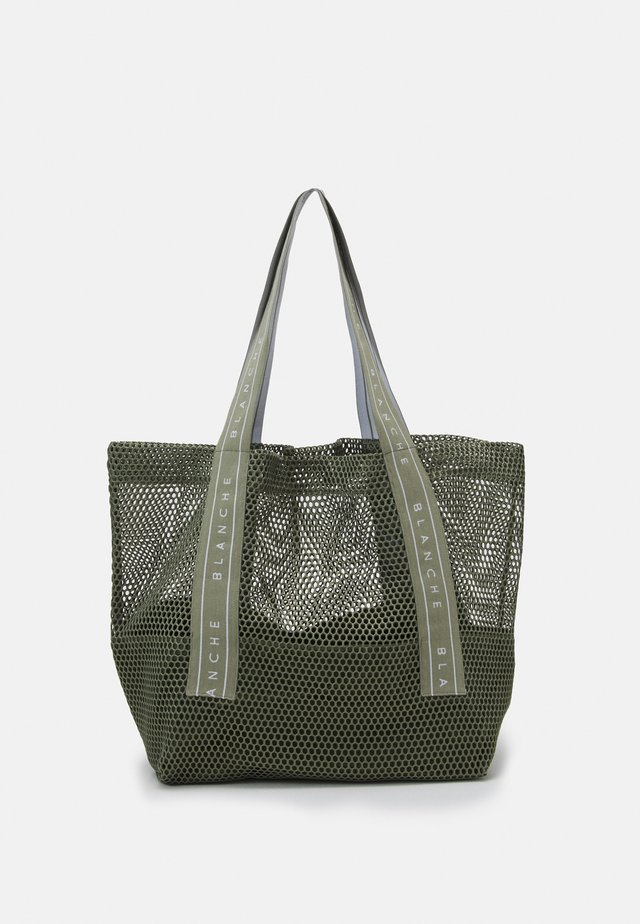 TOTE LOGO - Shopping bags - khaki