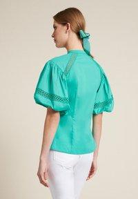 Luisa Spagnoli - BAUNY - Button-down blouse - turchese - 1