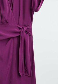 Massimo Dutti - Day dress - dark purple - 3