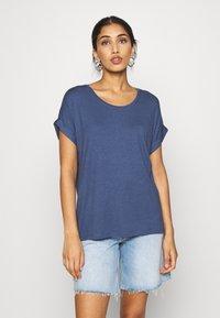 ONLY - ONLMOSTER ONECK - T-shirts - vintage indigo - 0