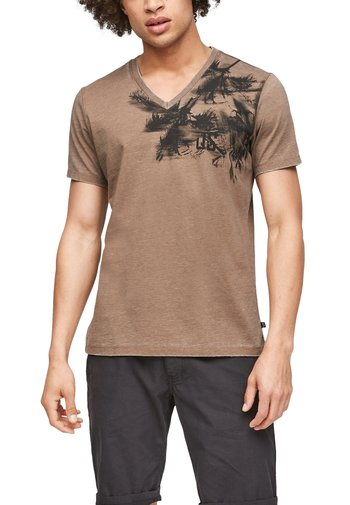 ÉTROIT - Print T-shirt - brown