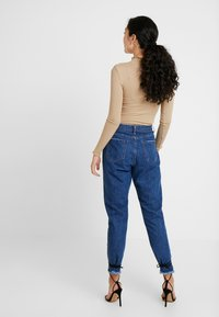 Missguided Tall - WRATH MID RISE CLEAN CUT HEM - Džíny Relaxed Fit - blue - 2