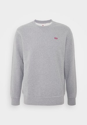 NEW ORIGINAL CREW UNISEX - Sweatshirt - chisel grey heather