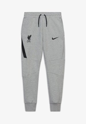FC LIVERPOOL TECH  - Tracksuit bottoms - dark grey heather / black