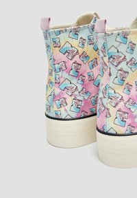 PULL&BEAR - Baskets montantes - multi coloured - 4