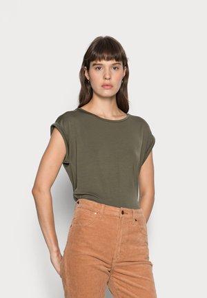 ADELIA - Basic T-shirt - army green