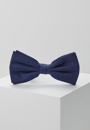 SOLID RIBBED BOWTIE - Noeud papillon - blue