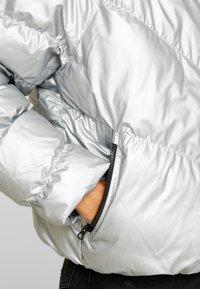 Nike Sportswear - FILL SHINE - Winter jacket - metallic silver/black - 5