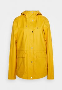 ONLY Tall - ONLTRAIN RAINCOAT - Regnjakke / vandafvisende jakker - yolk yellow - 0