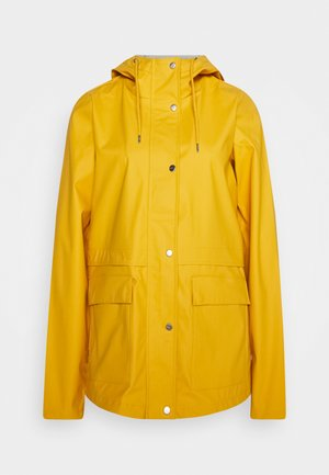 ONLTRAIN RAINCOAT - Regnjakke - yolk yellow