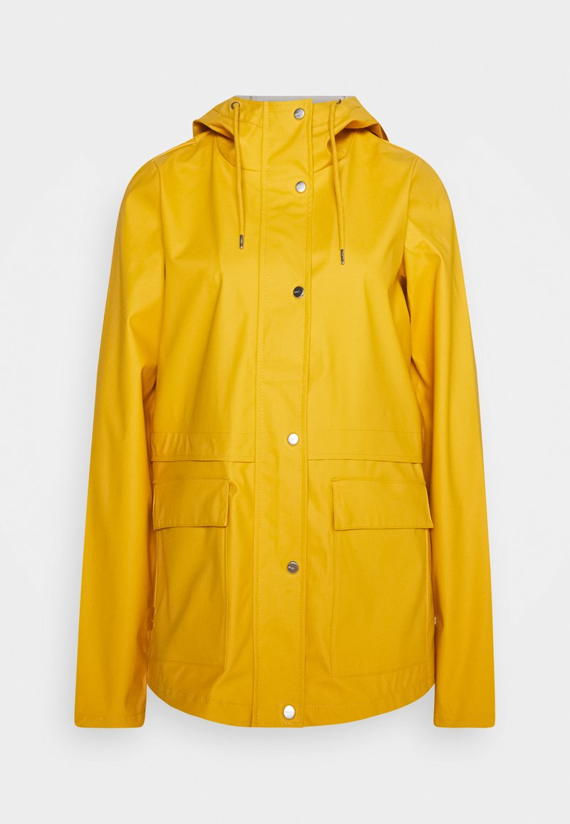 ONLY Tall - ONLTRAIN RAINCOAT - Regnjakke / vandafvisende jakker - yolk yellow