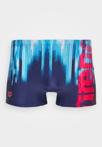 Arena - DRAWING - Swimming trunks - navy/multi - 2