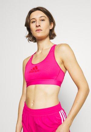 DRST ASK  - Medium support sports bra - team real magenta/vivid red