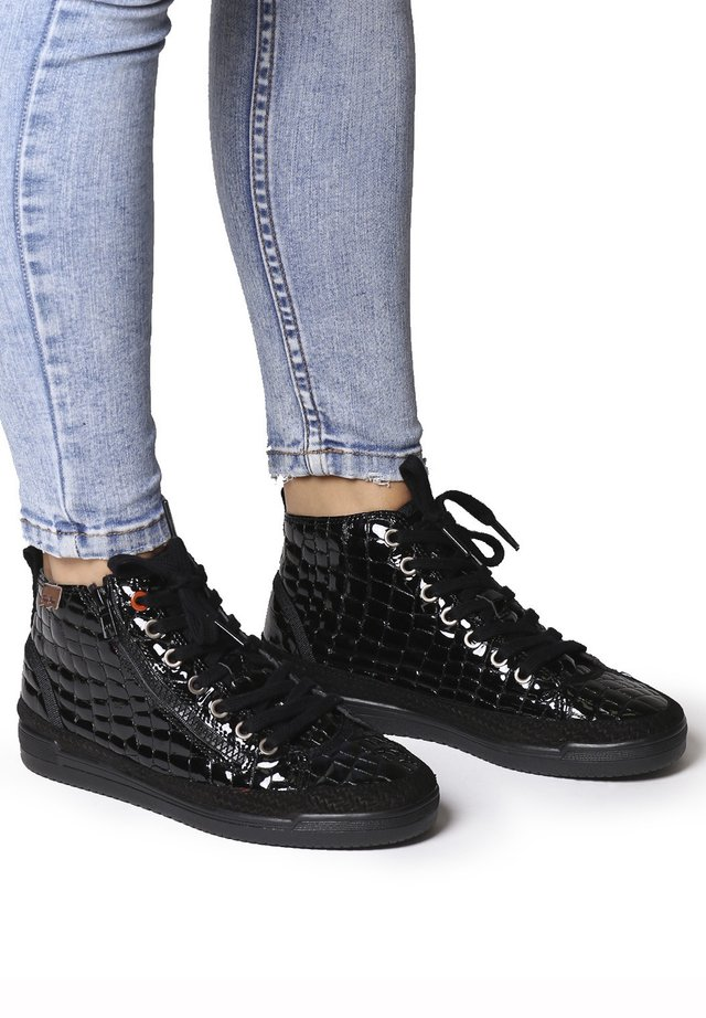 GABY-XC - Lace-up ankle boots - negre