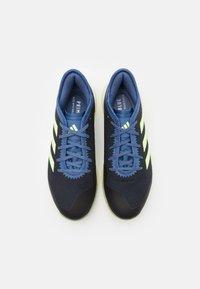 adidas Performance - ADIZERO FASTCOURT PRIMEBLUE - Håndboldsko - legend ink/hi-res yellow/blue - 3