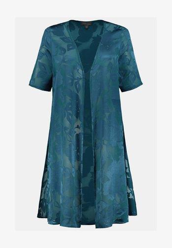 Summer jacket - dunkler smaragd