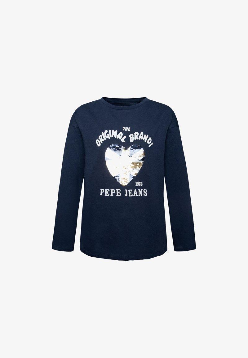 Pepe Jeans - LARA - Top sdlouhým rukávem - tinta