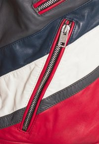 Diesel - L-POWER - Leather jacket - red - 2