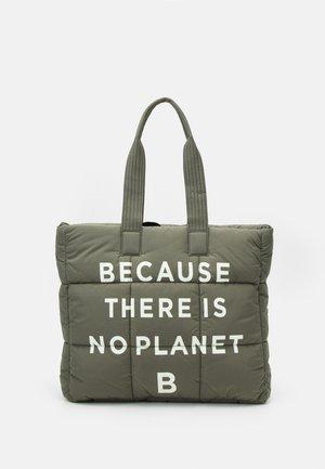 LEANDRA WOMAN - Shopping bag - deep kaki