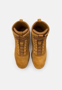 rag & bone - RETRO COMBAT BOOT - Lace-up ankle boots - bourbon brown - 3