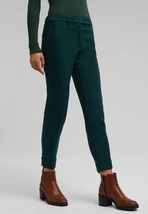 SMART - Trousers - dark teal green