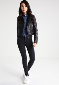 Oakwood - YOKO - Leather jacket - black - 1