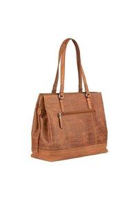 Burkely - CROCO CAIA  - Handbag - cognac - 1