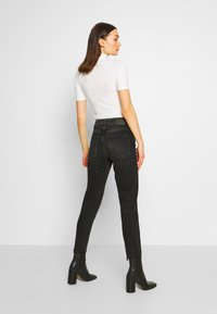 Pieces - PCNIMA - Jeans straight leg - black denim - 2