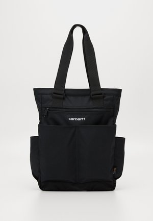 PAYTON KIT BAG - Bolso shopping - black / white
