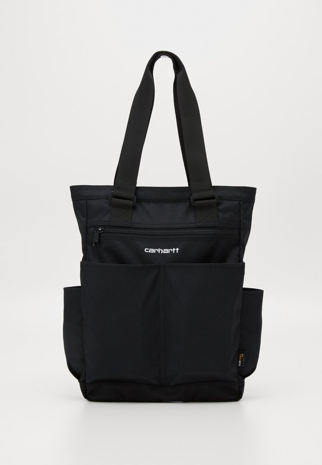 PAYTON KIT BAG - Shopper - black / white