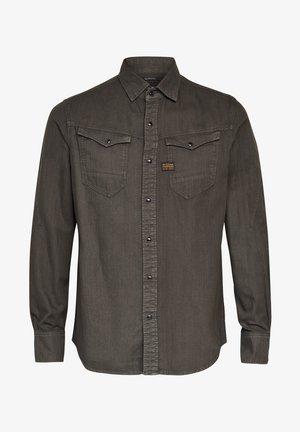 ARC  SLIM  L\S ASFALT GD - Shirt - asfalt gd