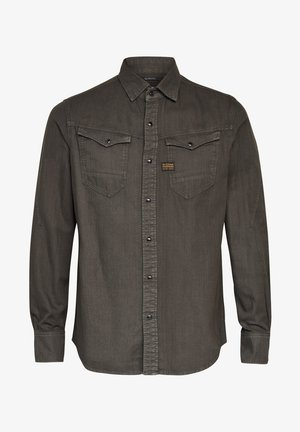 ARC  SLIM  L\S ASFALT GD - Overhemd - asfalt gd