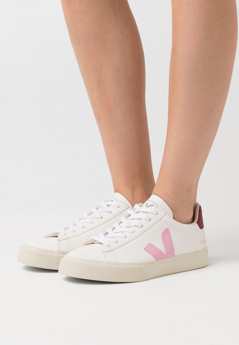 Veja - CAMPO - Sneaker low - extra white/guimauve/marsala