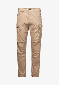 G-Star - ROXIC STRAIGHT TAPERED - Cargo trousers - sahara gd - 4