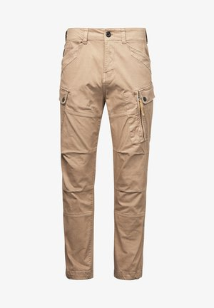 ROXIC STRAIGHT TAPERED - Cargo trousers - sahara gd