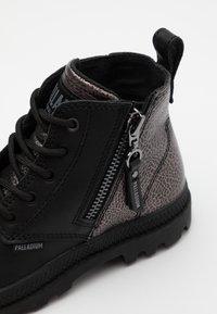 Palladium - PAMPA ZIP ROCK - Lace-up ankle boots - black - 5