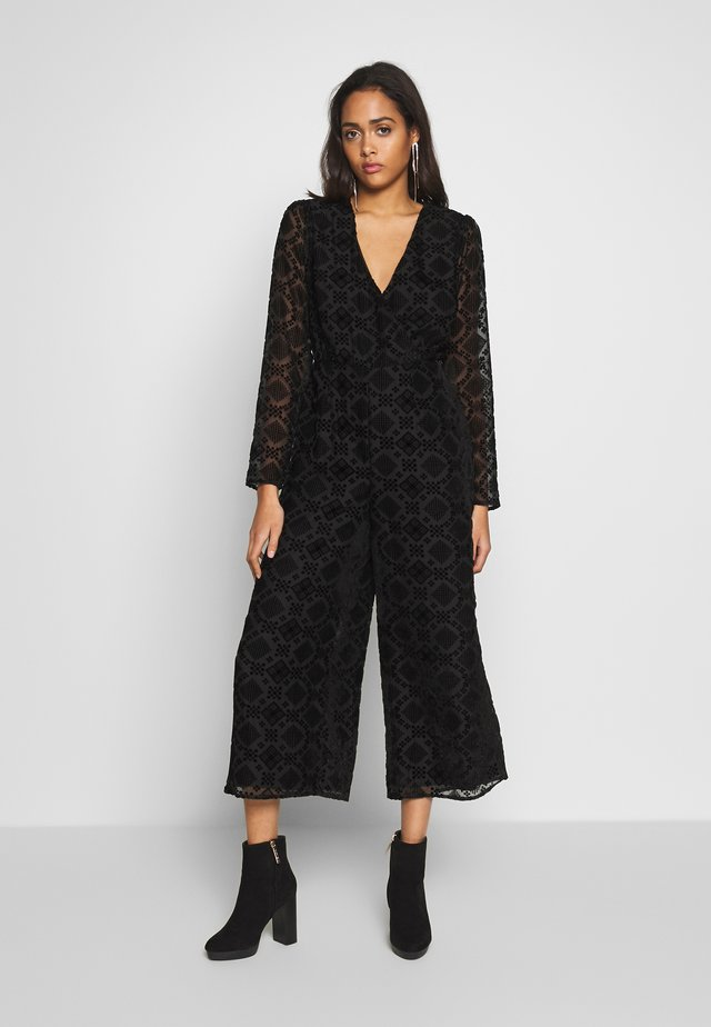 RAVEN MIDI - Jumpsuit - black