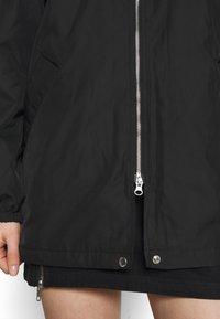Weekday - BYRON COACH JACKET - Short coat - black - 7