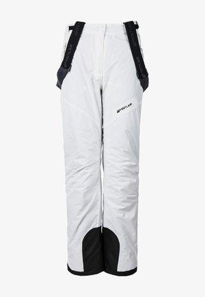 SKIHOSE FAIRFAX - Snow pants - white