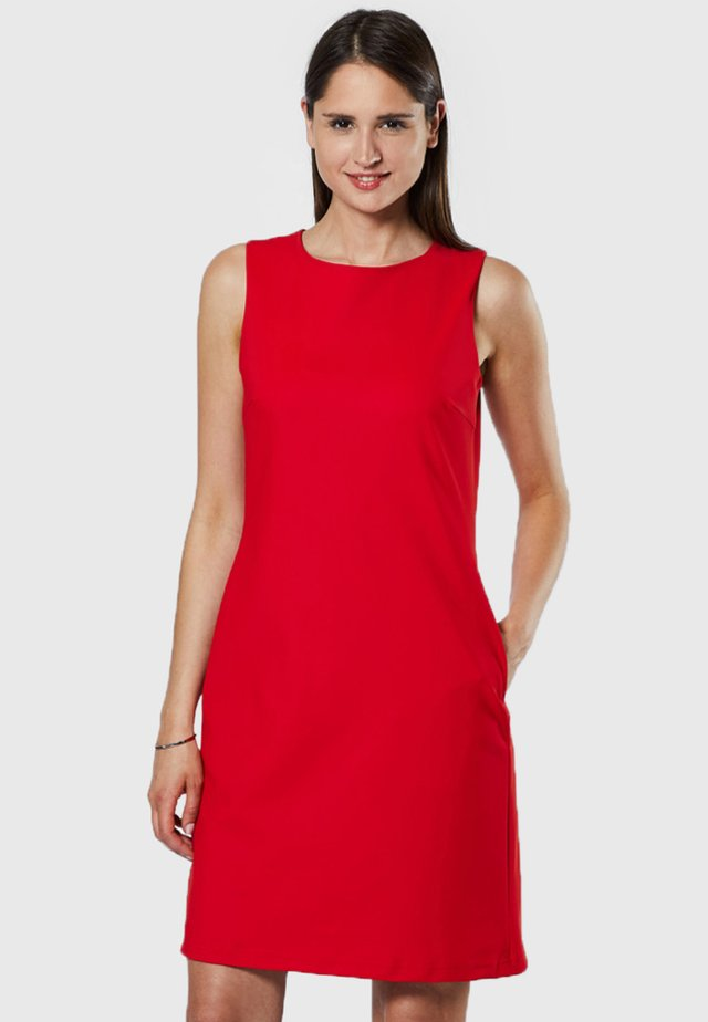 Vestido informal - dark red