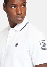 Timberland - Polo shirt - white - 4