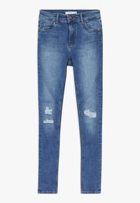 Name it - NKFPOLLY  - Džíny Slim Fit - medium blue denim - 0