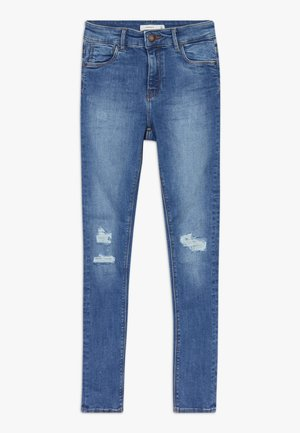NKFPOLLY  - Jeansy Slim Fit - medium blue denim