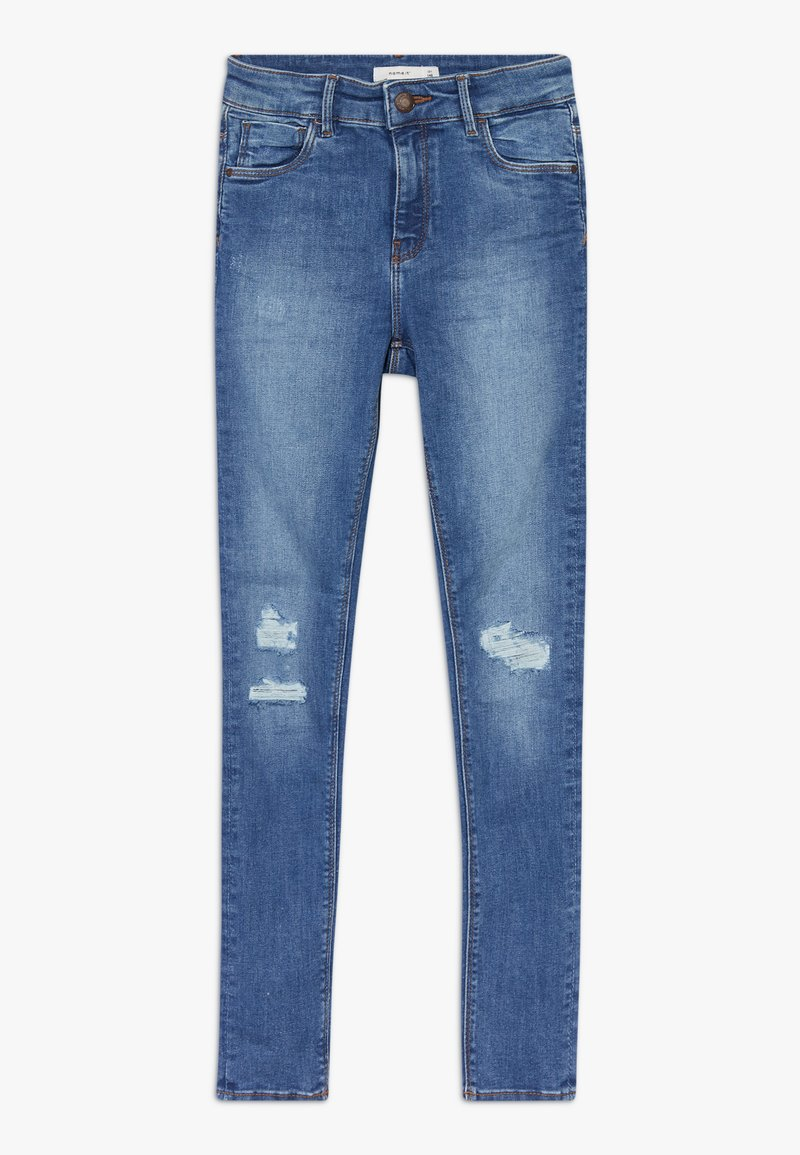 Name it - NKFPOLLY  - Džíny Slim Fit - medium blue denim