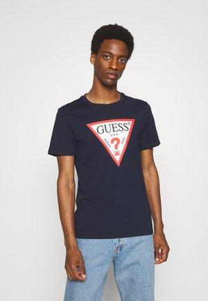 ORIGINAL LOGO - T-shirt con stampa - blau