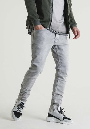 EGO LYNCH - Slim fit jeans - grey