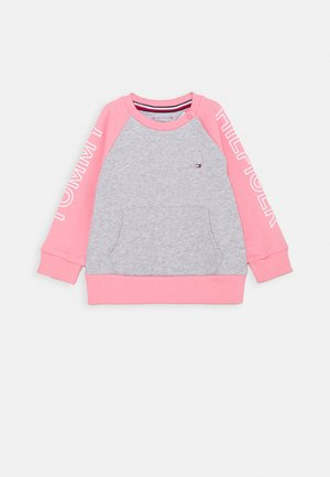 BABY COLORBLOCK - Sweater - pink